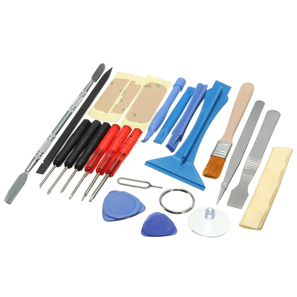 Wholesale Universal New 22 in 1 Mobile Phone Opening Pry Repair Screwdrivers Tools Kit Set For iPhone6 For 6 Plus For 5S For 5C creative workshops 4s iphone6 diy plus