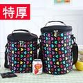 Circle boxes bag lunch bag waterproof cooler bag drum belt portableLarge