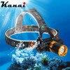 T6 LED Head Lamp Diving Light 5800 Lumens Underwater Waterproof Headlamp Mining Lamp Diving Head Light