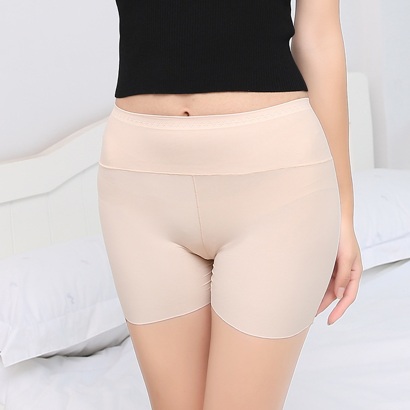 Women comfortable Safety Short Pants briefs high elastic over size underwear shorts seamless boyshorts high quality fashion 2018