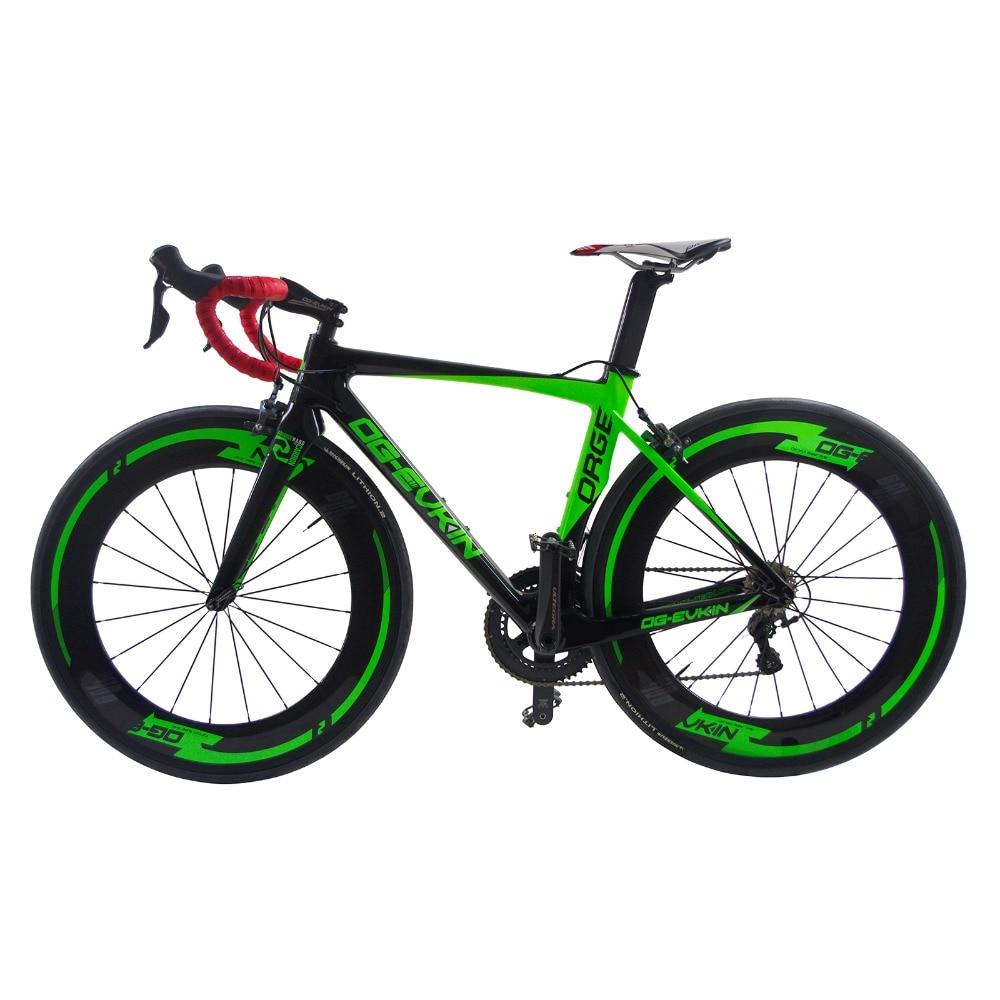 где купить 2017 New Arrival 22 speed Super Light Aero Carbon Fiber Bicycle Road Complete Bike V brake Bicicleta Cycling R36 49/52/54/56cm по лучшей цене