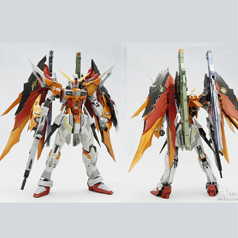 DRAGON MOMOKO Gundam model MG 1/100 ZGMF-X42S Revolution Destiny Heine custom Mobile Suit kids toys cmt instock dragon momoko 1 60 pg unicorn gundam rx 0