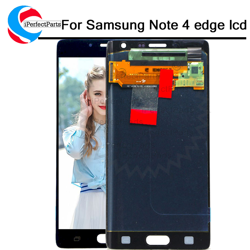 amolec lcd For Samsung Galaxy Note 4 Edge N915 N9150 N915F LCD Display with Touch Screen