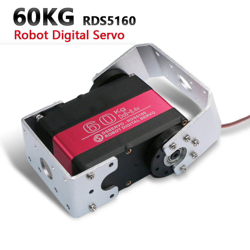 1X HV Robot servo 60kg RDS5160 metal gear digital servo arduino servo large servo+free shipping Parts & Accessories     - title=