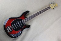 Active Pickups 9V Battery Red Burst Blue Music Man Ernie Ball Sting Ray 4 Strings Bass