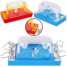 Childrens puzzle tabletop shooting game mini finger catapult basketball court interactive toys stickers funko pop dragon ball