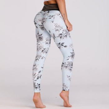 Print Pocket Workout Leggings