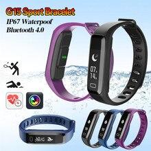 Оригинальный G15 Умные браслеты Bluetooth smart Сердечного ритма Мониторы браслет Фитнес трекер для смартфонов IOS и Android