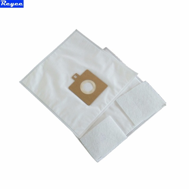 5x Vacuum Cleaner Aeg Hoover Ts2351 Dust Bags Microfiber Hepa Bag With 2pcs Filter Replacement