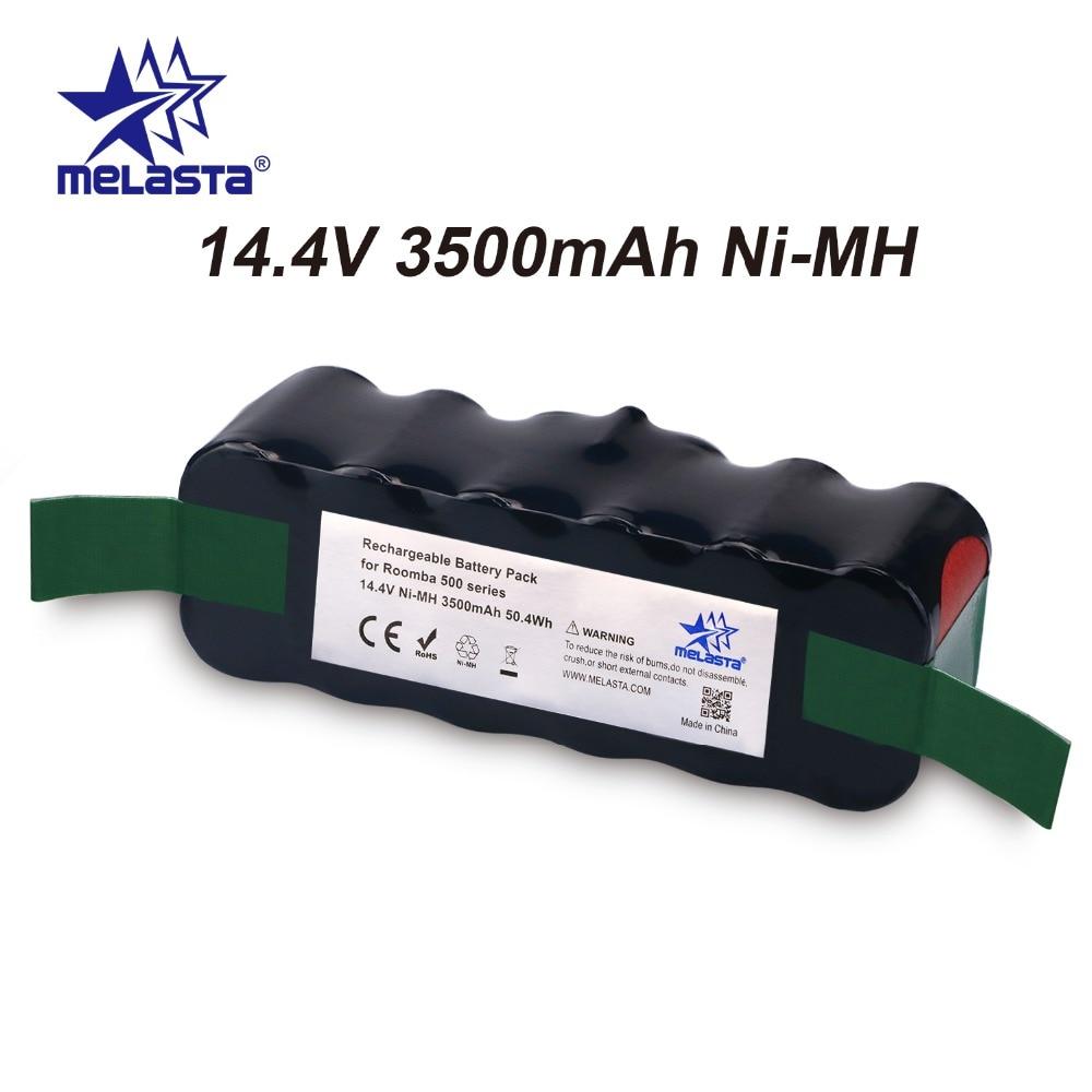 цены на Updated Capacity 3.5Ah 14.4V NIMH battery for iRobot Roomba 500 600 700 800 Series 510 530 550 560 620 650 770 780 870 880 R3