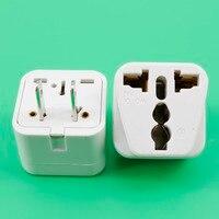 YuXi Wit Universele US UK EU 2 Pin Australië Plug Travel Stopcontact Adapter 240 V 10A Socket Converter transformeren plug