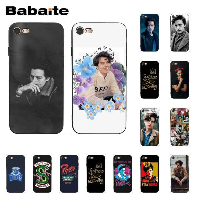 Babaite American TV Riverdale Jughead Jones Crown Phone Case for iPhone X XS MAX  6 6s 7 7plus 8 8Plus 5 5S SE XR
