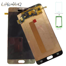 New OLED LCD For Samsung Galaxy note 5 N920 N920G N920C LCD Display Touch screen Digitizer Assembly For samsung Note5 N920I LCD стоимость