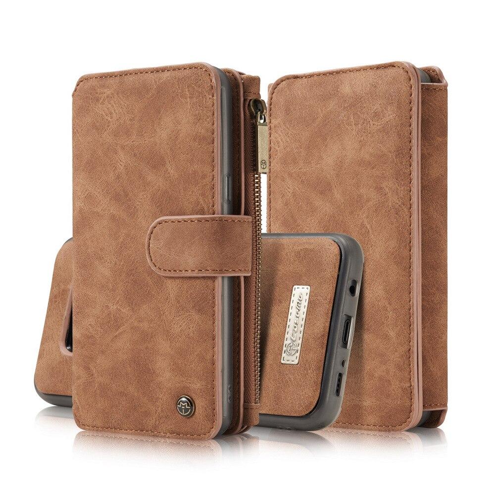 CaseMe Luxury Leather 2 in 1 Phone Bag för Samsung Galaxy Note 8 S8 - Reservdelar och tillbehör för mobiltelefoner