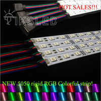 50 x 0.5m 50cm LED Bar Light 5050 SMD RGB 30 leds/m 12VDC,rigid led strip with U Aluminium profile and cover