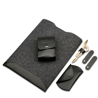 New Slim For Macbook Air 11 13 Wool Felt Sleeve For Macbook Pro Retina Air 13