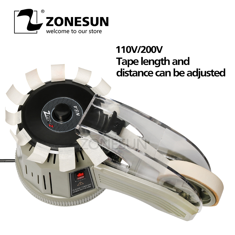 ZONESUN  ZCUT-2 Industrial Tape Dispensing Machine Auto Tape dispensers Automatic Tape CuttersZONESUN  ZCUT-2 Industrial Tape Dispensing Machine Auto Tape dispensers Automatic Tape Cutters
