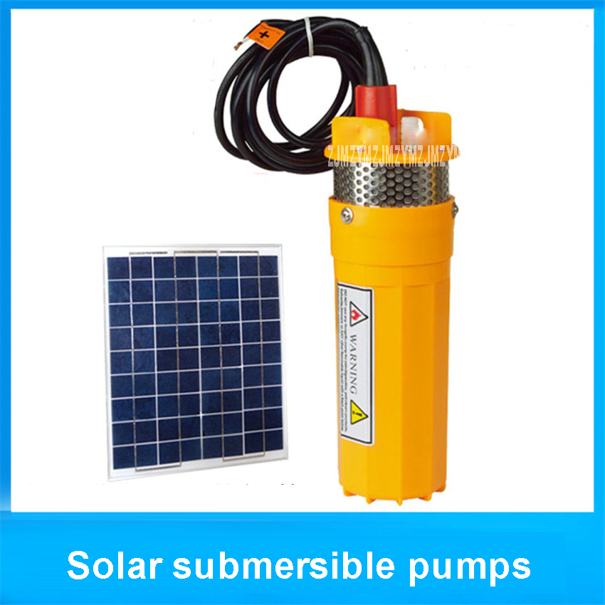 24V/12V 6l/min 70meter lifting submersible solar water pump membrane, solar fountain to membrane water pump Engineering Plastics 1 2w solar panel power water pump kit for submersible fountain pond