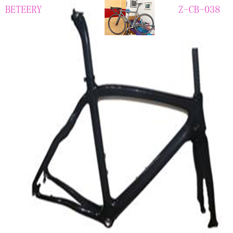 Beteery Store   Carbon Road  Bike 700*23c Carbon Road  Frame Z-CB-038 Carbon Frame Set For Sale