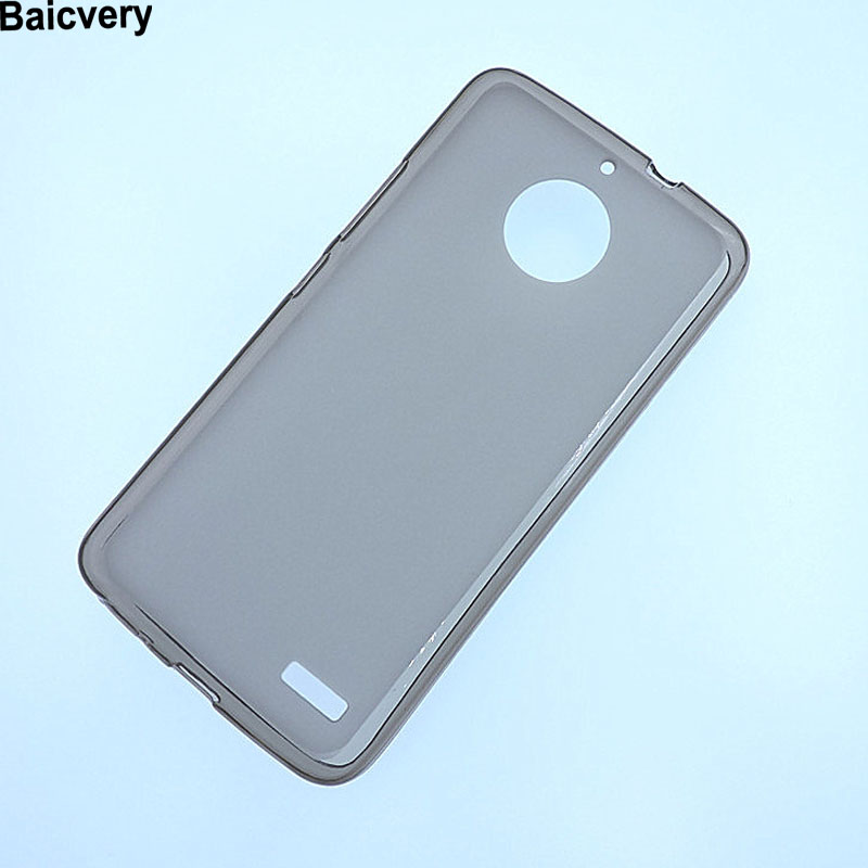 Soft Silicon Case For <font><b>Motorola</b></font> Moto <font><b>E4</b></font> Case MotoE4 Cover 5.0 Case For Lenovo Moto <font><b>E4</b></font> XT1763 <font><b>XT1762</b></font> XT1767 E 4th Gen image