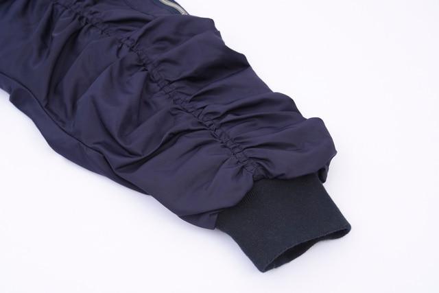 A Sneak Peek Fall / Winter Fashion Denim Patchwork Hit Color Hooded 2