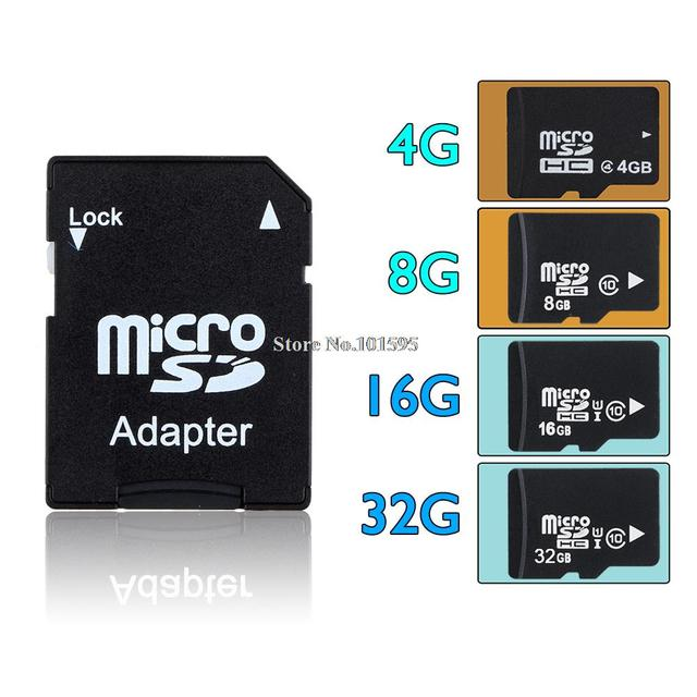 4GB 8GB 16GB Micro SD Card 16GB TF Card Full Capacity Memory Card for Phone Speaker free shipping