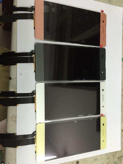 Preto branco rosa cor de ouro para sony xperia xa f3111 xa Dual F3112 display LCD com Tela de toque digitador competir 100% testado