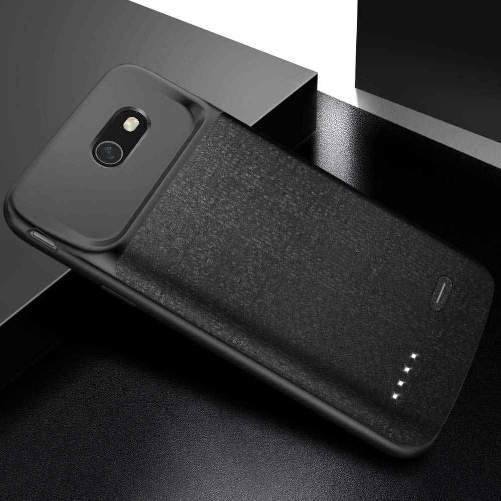 official photos 9259d eba06 NEWDERY power bank battery case for Samsung J7 Prime 4000mAh backup charger  phone case for Samsung galaxy J7 2017 J7V Sky Pro