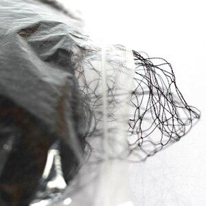 Image 4 - Alta qualidade 14m x 3m 30mm armadilha poliéster 110d/2 atado anti pássaro névoa net 1 pçs