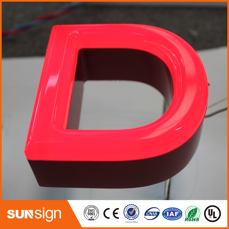 Popular Design Outdoor Led Custom Frontlit Letters