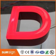 Popular design outdoor led custom frontlit letters