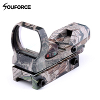 Red Green Dot Sight Holographic Camo Riflescope Hunting Airsoft Optics Scope Reflex 4 Reticle Tactical Gun