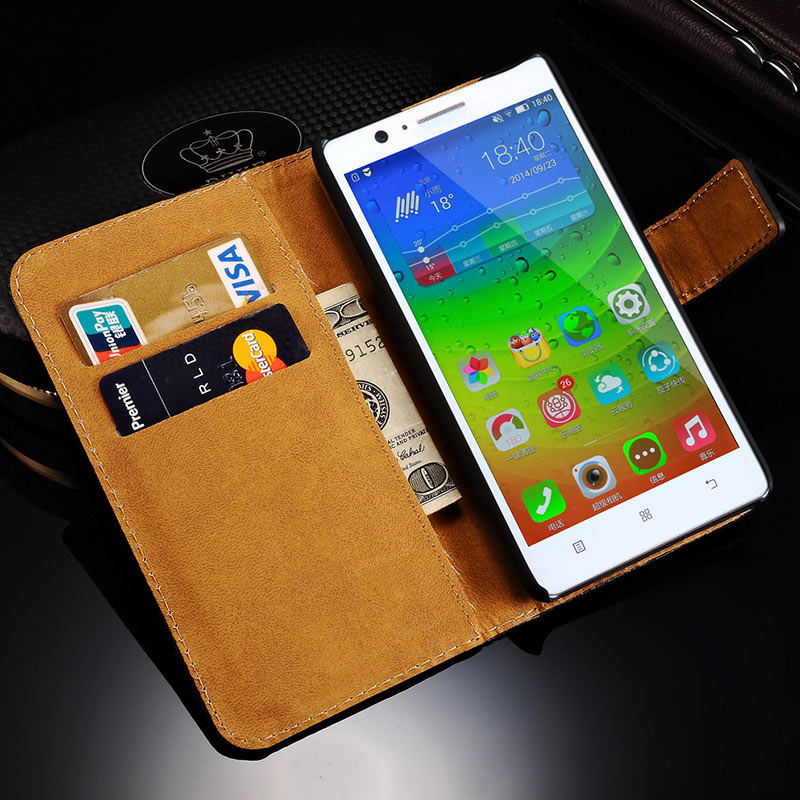 Wallet Case For Lenovo A536 /...