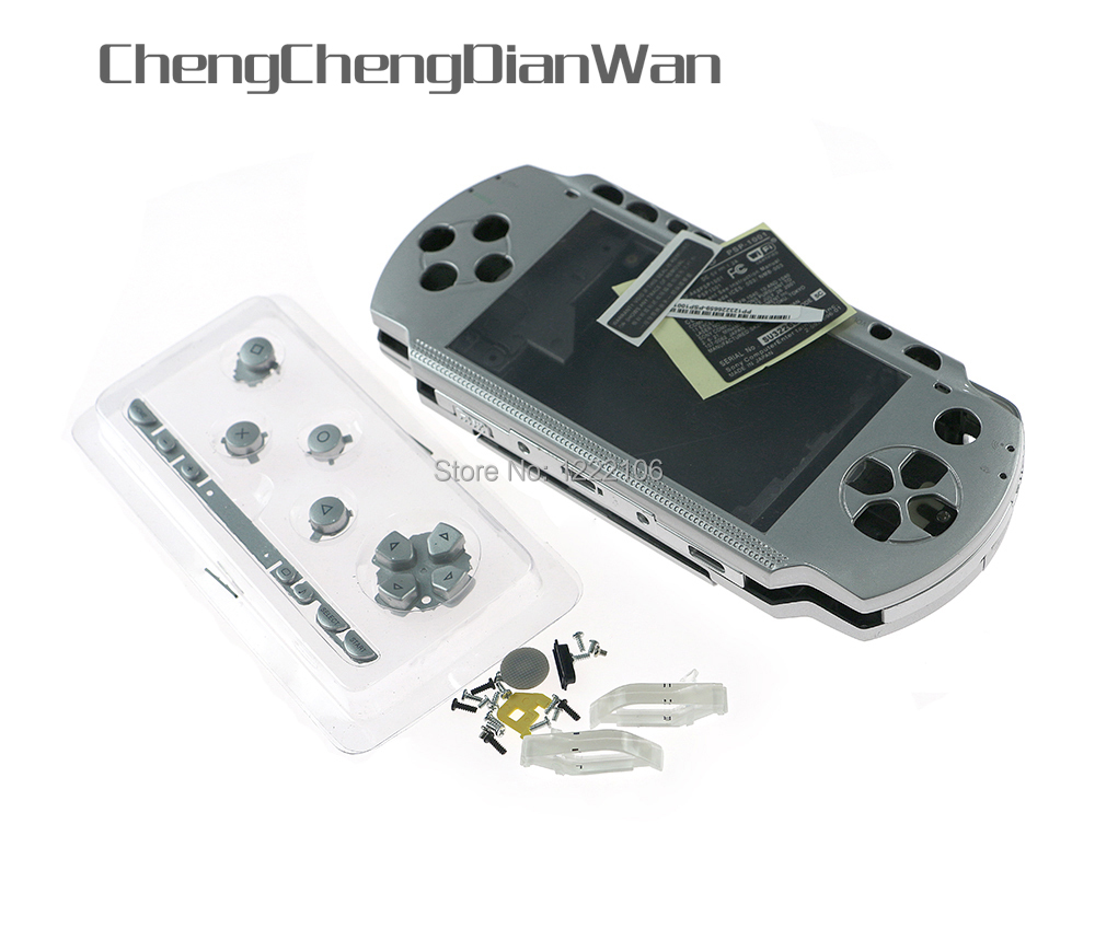 ChengChengDianWan Multi Color For PSP 1000 PSP1000 Full Housing Shell Cover Case Replacement Buttons Kit With Best Quality
