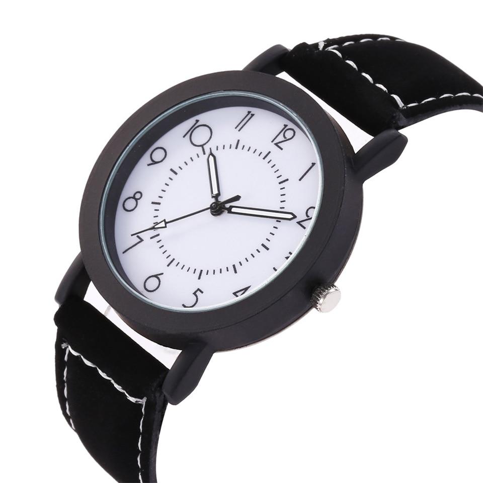 231383c3eb9b Marca Relojes hombres Relojes de Mujer de lujo 2018 negocios reloj de  pulsera de cuero de las mujeres de deporte de cuarzo reloj para hombre de  Horas Reloj ...