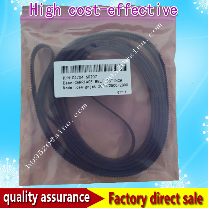 Carriage Belt C4704-60207 For H*P Designjet 2000CP 2500CP 2800CP 36inch Plotter Spare Parts Compatible