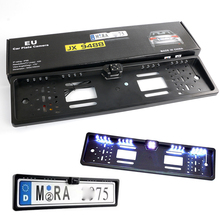 Car EU European License Plate Frame Camera Front Rear View Camera Auto Reverse Backup font b