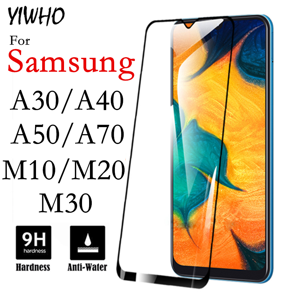 Protective <font><b>Glass</b></font> On A50 For <font><b>Samsung</b></font> <font><b>Galaxy</b></font> A30 A40 A70 Glas Tempered Safety M10 M20 M30 A 50 40 30 70 <font><b>M</b></font> 10 <font><b>20</b></font> Screen Protector image