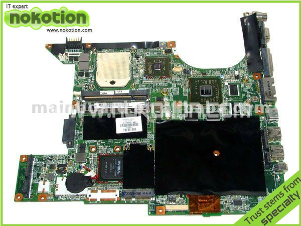 laptop motherboard for HP DV9000 SERIES 441534-001 NF-SPP-100-N-2 DDR2 Mainboard 519592 001 laptop motherboard for hp hdx18 series mainboard system board