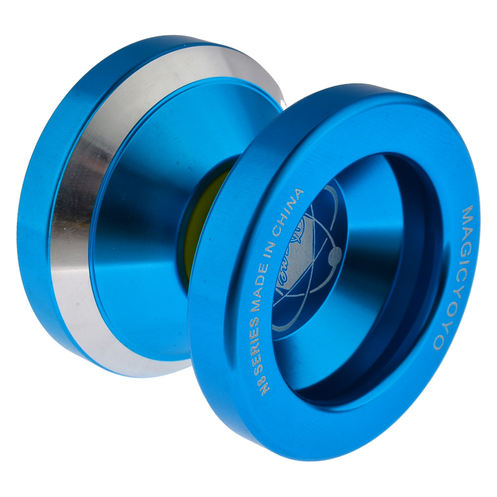 Magic YOYO N8 Dare To Do Alloy Aluminum Professional Yo-Yo + String Kids Children Toy Gift aoda portable cool plastic alloy yo yo toy deep blue