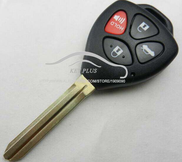 Ehrlichkeit Fernschlüsselshell-fall Für Toyota Camry Avalon Corolla Matrix Rav4 Venza Yaris 4 Tasten Fob Keyless Tastaturabdeckung Blanks Von Der Konsumierenden öFfentlichkeit Hoch Gelobt Und GeschäTzt Zu Werden