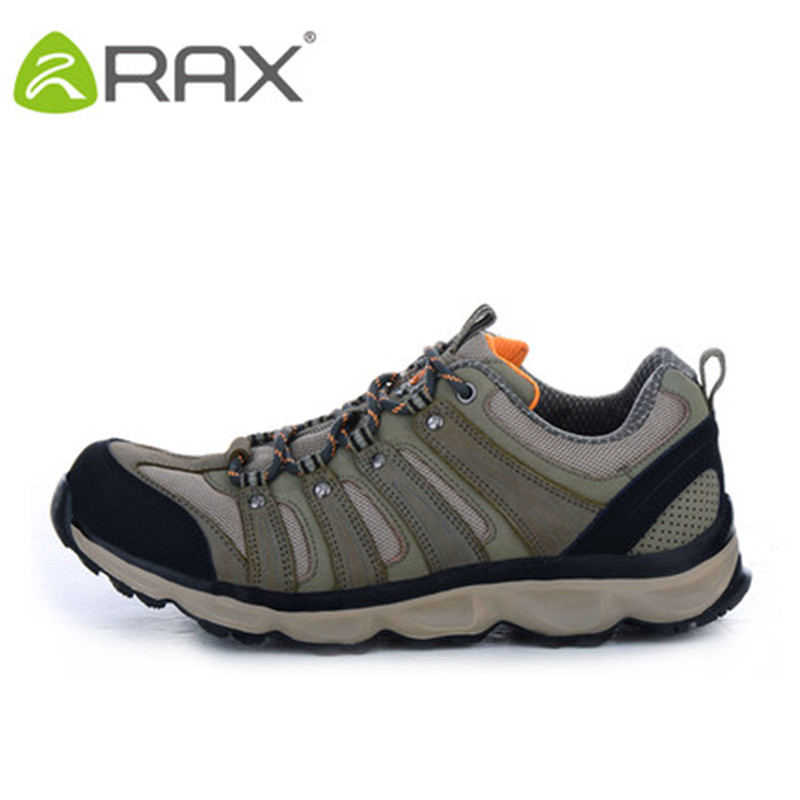 Hiking Boots Zapatillas Hombre Genuine First Layer Of Hiking Shoes Ultra - Light Shock Absorption Outdoor Travel Non Slip S цена 2017