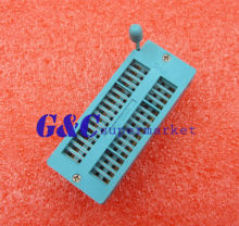 Narrow-Body 32P 32Pin 2.54MM Universal ZIF DIP Te Teer IC Te Socket 3M