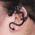 2016 Hot New The Popular Gothic Punk Style Domineering Personality Dragon Earring 3 Colors Anmail Earrings ER0004