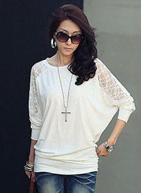 White-Lace-T-Shirt-Women-T-shirt-Cotton-Poleras-De-Mujer-Moda-2016-Tee-Shirt-Femme