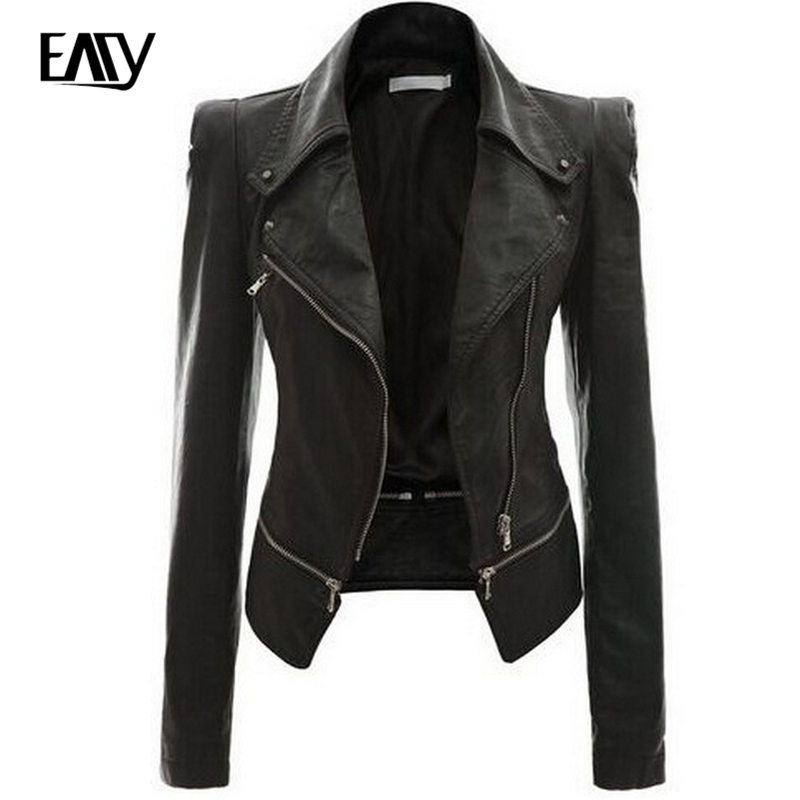 Popular Plus Size Leather Jackets for Women-Buy Cheap Plus Size ...