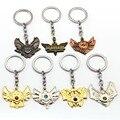 Game LOL Keychain Legends Key Chain hero League Rank Key Ring Key Holder Chaveiro Jewelry