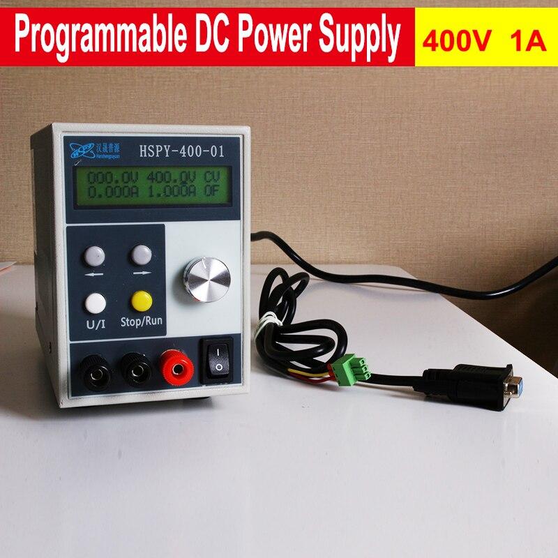 Original Adjustable Programmable DC Voltage Regulator Adjustable Switching Power Supply 400V 1A 220V nc dc dc dc adjustable voltage regulator module integrated voltage meter 8a voltage stabilized power supply