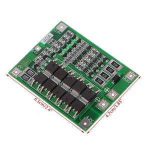 Image 5 - 4S 40A 14.8V 16.8V Li ion Lithium 18650 Battery BMS PCB Protection Board Balance