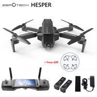 Оригинальный HESPER селфи 4 К Камера Drone FPV с 1080 P HD Камера gps Системы дроны Quadcopter удаленного и APP управление вертолет